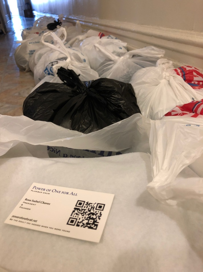 Line of packages